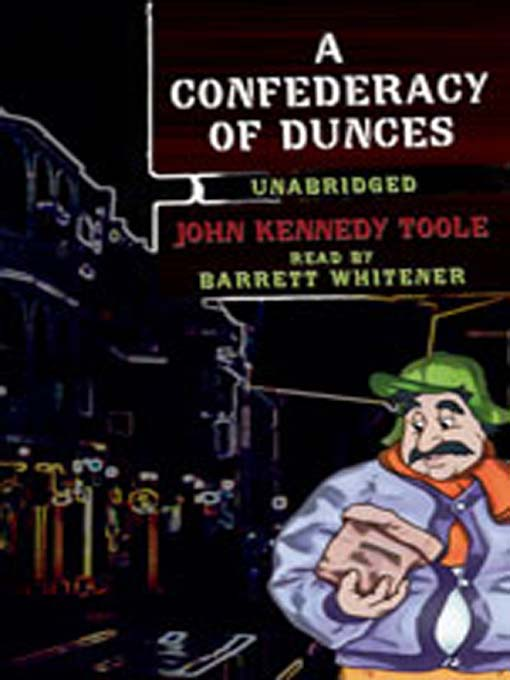 Cover image for A Confederacy of Dunces
