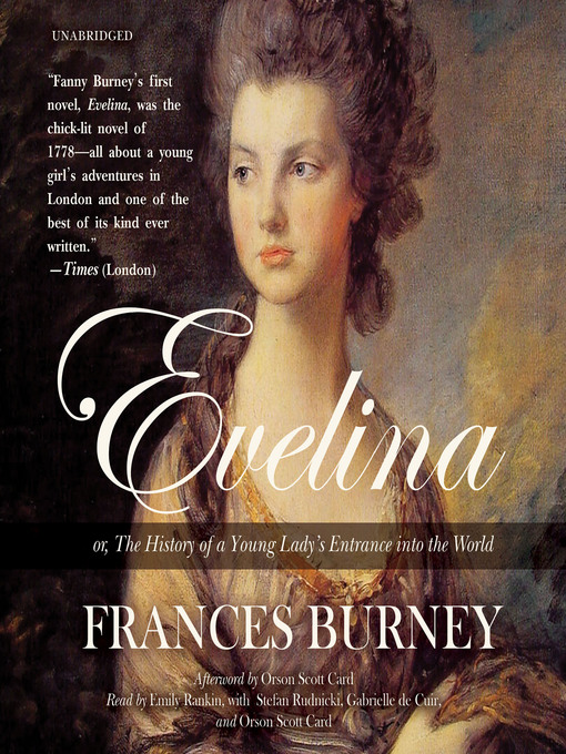 Evelina (MP3): Or, the History of a Young Lady's Entrance into the World