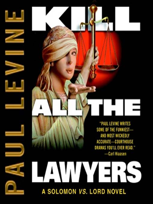 Cover image for Kill All the Lawyers