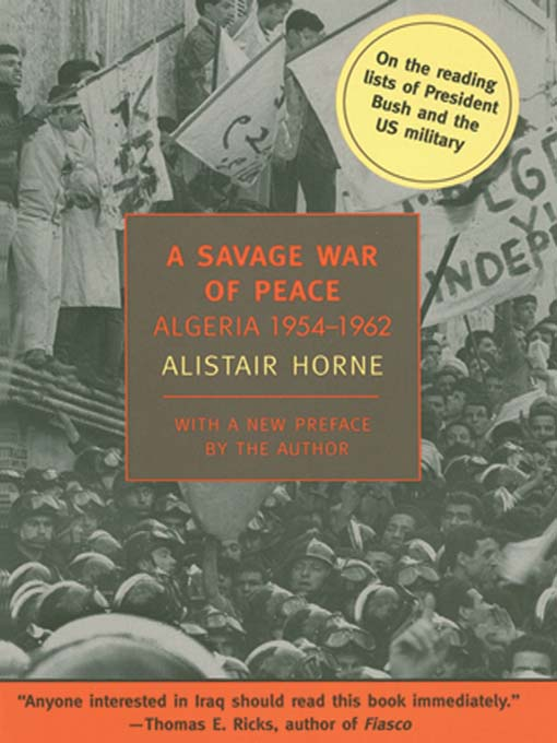 A Savage War of Peace (MP3): Algeria 1954-1962