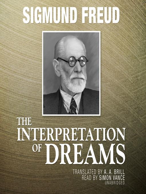 The Interpretation of Dreams (MP3)