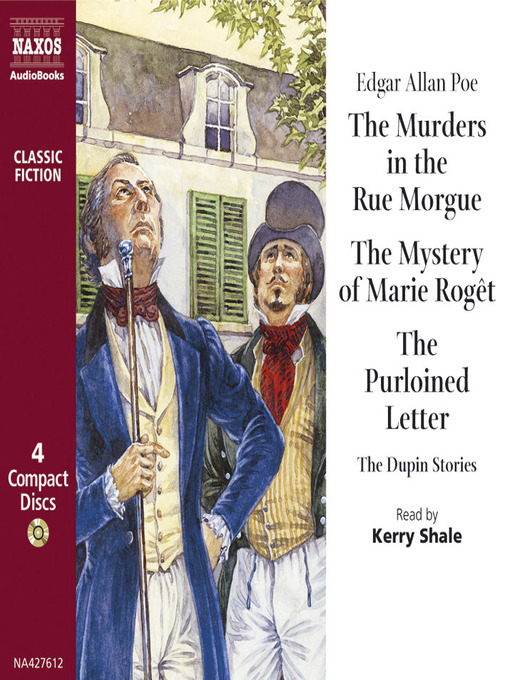 Murders in the Rue Morgue (MP3)