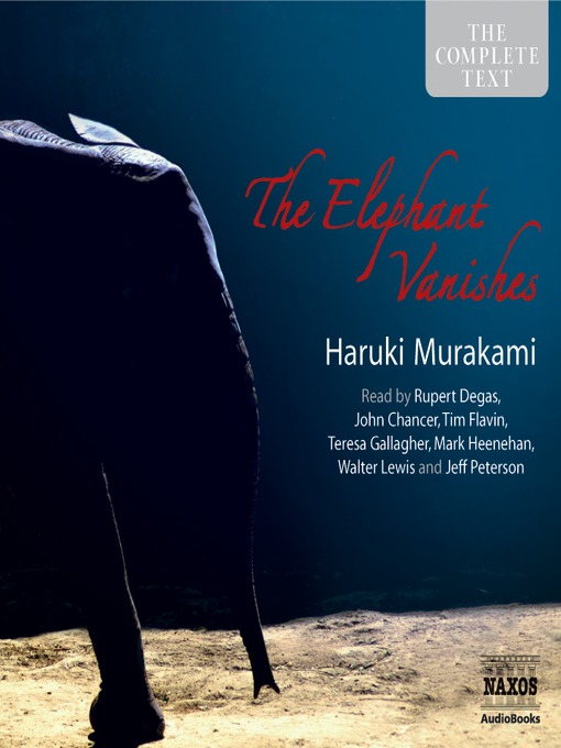 The Elephant Vanishes (MP3)