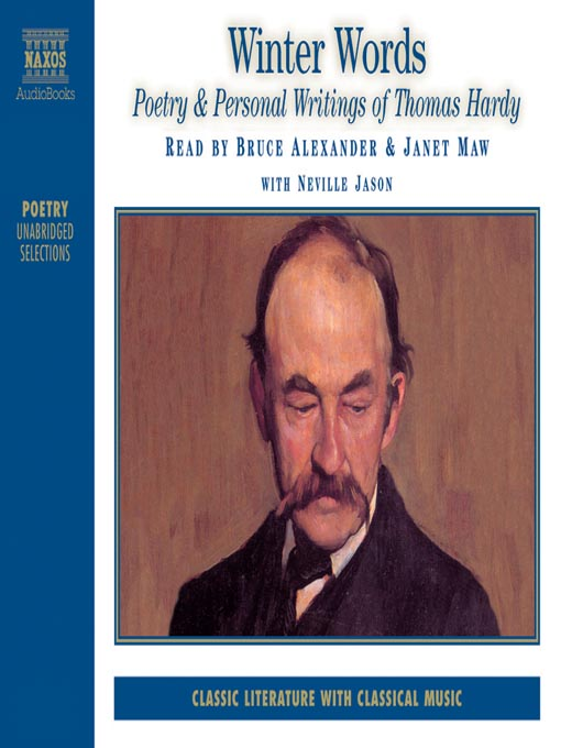 Winter Words (MP3): Poetry & Personal Writings of Thomas Hardy