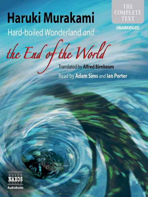 Hard-Boiled Wonderland and the End of the World (MP3)