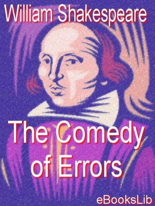 shakespeare comedy of errors essay