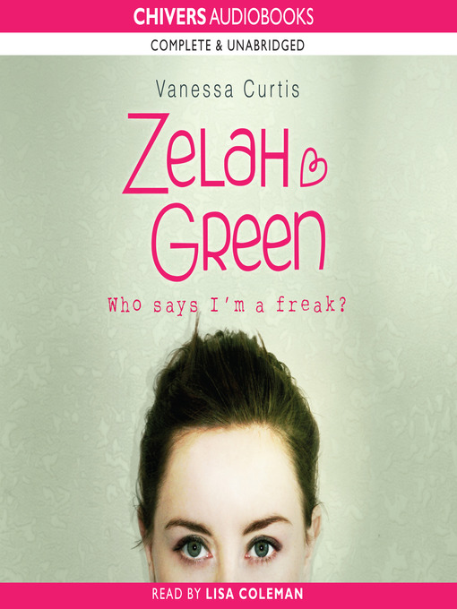 Zelah Green (MP3): Zelah Green Series, Book 1