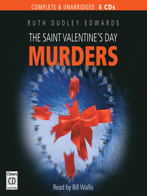 The Saint Valentine's Day Murders (MP3): Robert Amiss Series, Book 2