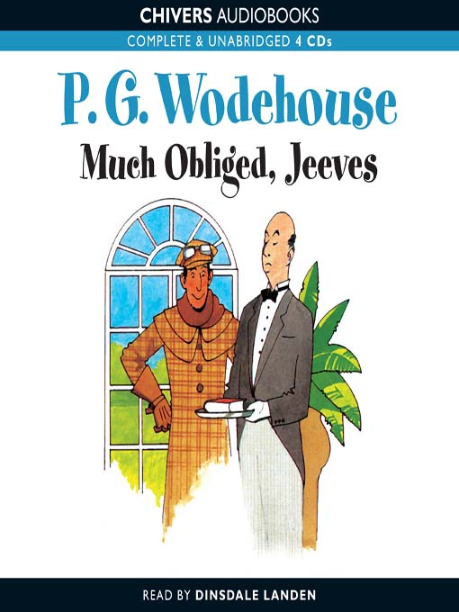 Cover image for Much Obliged, Jeeves