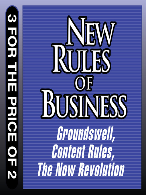 New Rules for Business (MP3): Content Rules - the Now Revolution