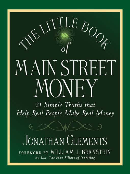 The Little Book of Main Street Money (MP3): 21 Simple Truths That Help Real People Make Real Money