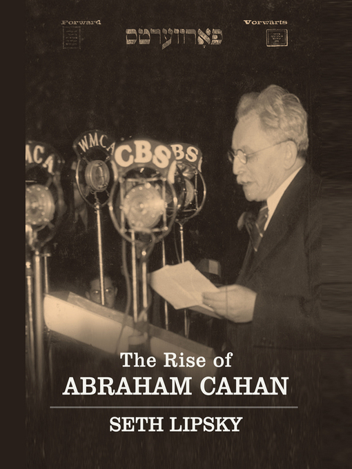 The Rise of Abraham Cahan (MP3)