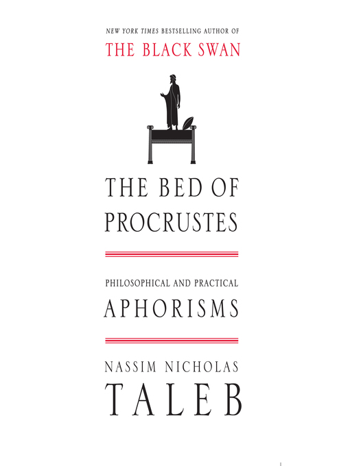 The Bed of Procrustes (MP3): Philosophical and Practical Aphorisms