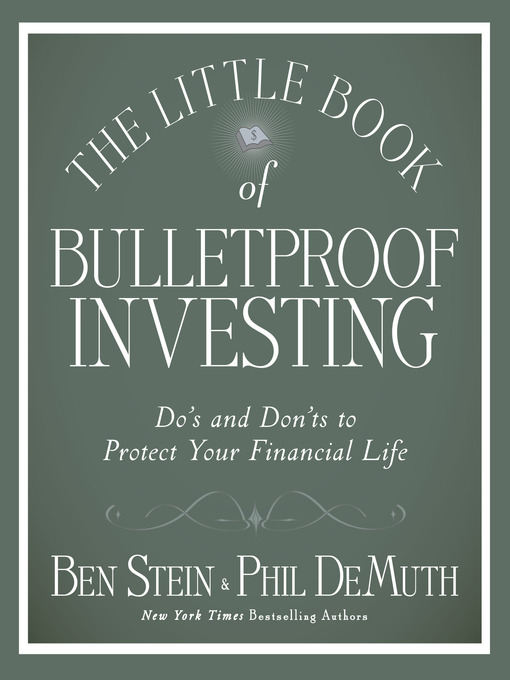 The Little Book of Bulletproof Investing (MP3): Do's and Don'ts to Protect Your Financial Life