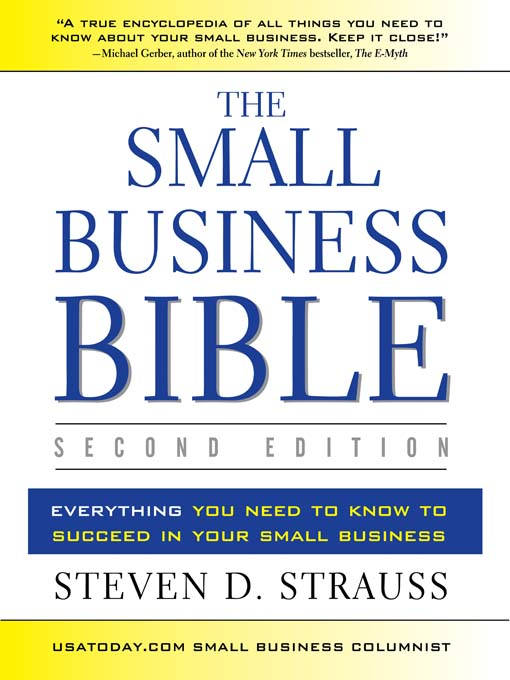 The Small Business Bible (Second Edition)   : Everything You Need to Know to Succeed in Your Small Business  (MP3)