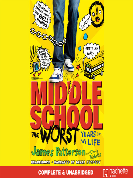 middle school bookjacket
