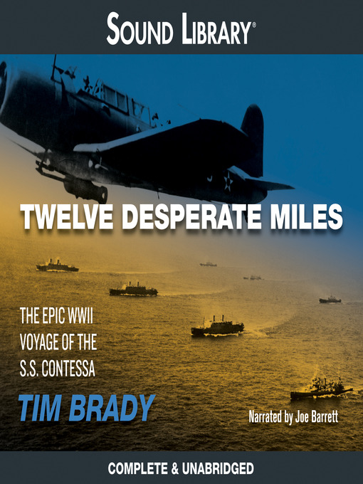 Cover image for Twelve Desperate Miles