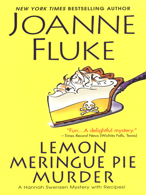Cover image for Lemon Meringue Pie Murder