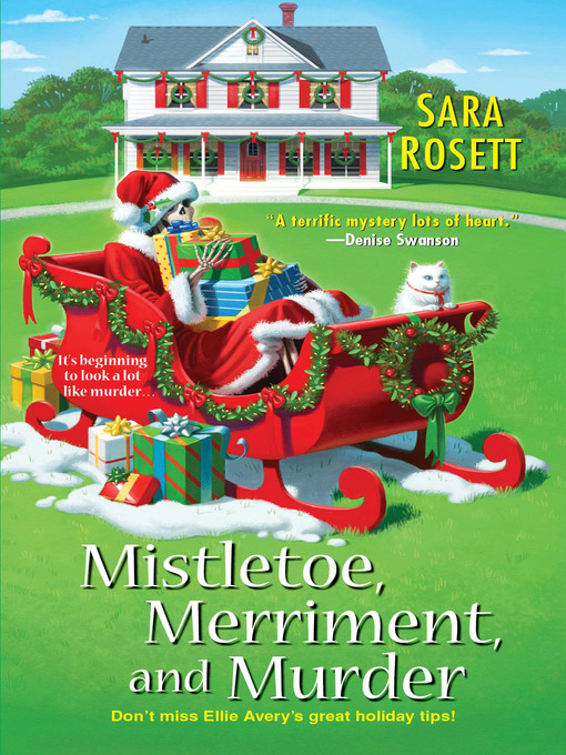 Mistletoe, merriment, and murder [electronic book] Mom Zone Mystery Series, Book 7.