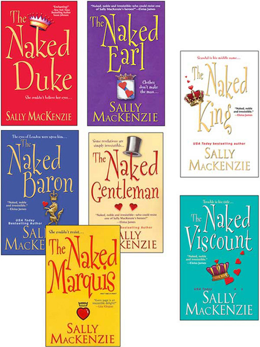 Sally MacKenzie Bundle (eBook): The Naked Earl, The Naked Gentleman, The Naked Marquis, The Naked Baron, The Naked Duke, The Naked Viscount, The Naked King