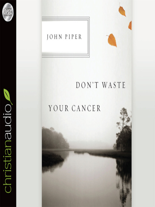 Don't Waste Your Cancer (MP3)