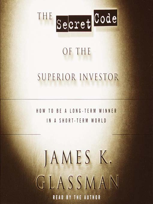 The Secret Code of the Superior Investor (MP3)