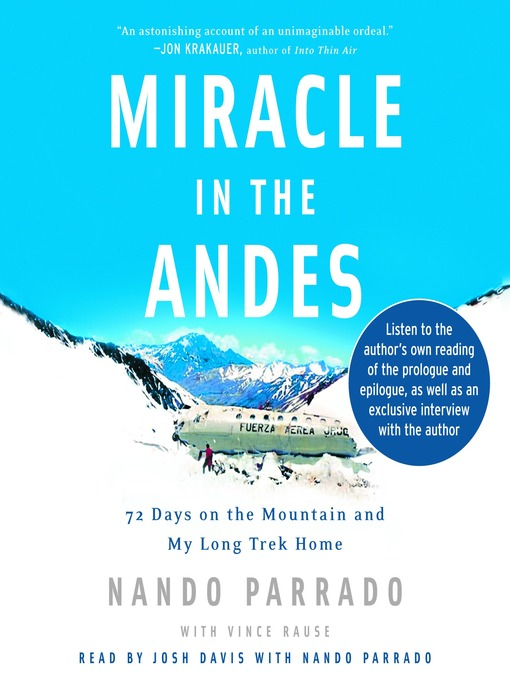 Cover image for Miracle in the Andes