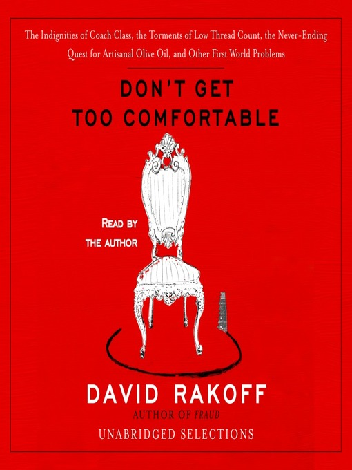 Cover image for Don't Get Too Comfortable