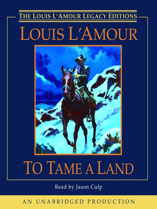 To Tame a Land (MP3)