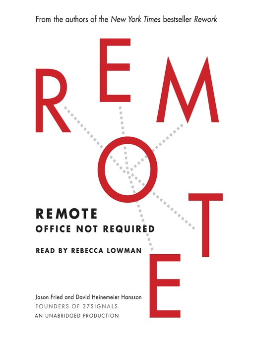 Remote (MP3): Office Not Required