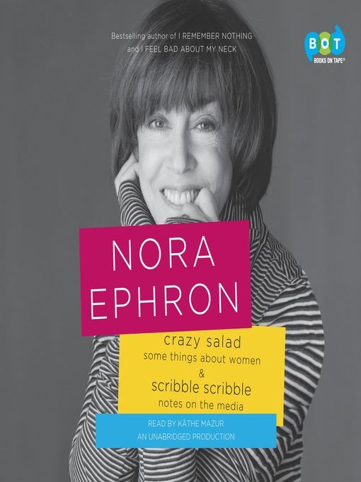 Crazy Salad and Scribble Scribble (MP3): Some Things About Women and Notes on Media