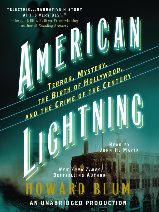 American Lightning (MP3): Terror, Mystery, the Birth of Hollywood, and the Crime of the Century