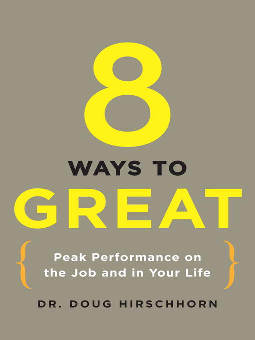 Cover image for 8 Ways to Great