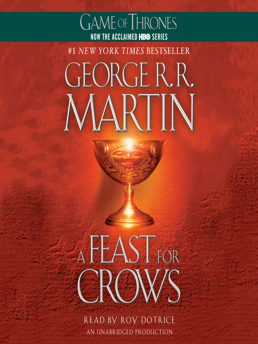 (A feast for crows) Book Jacket