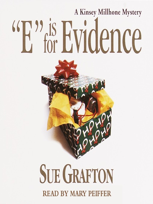 "Cover image for ""E"" is for Evidence"
