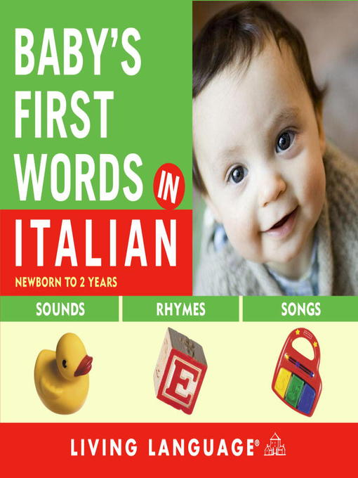 Baby's First Words in Italian (MP3)