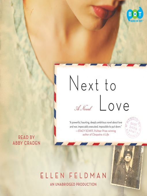 Cover image for Next to Love