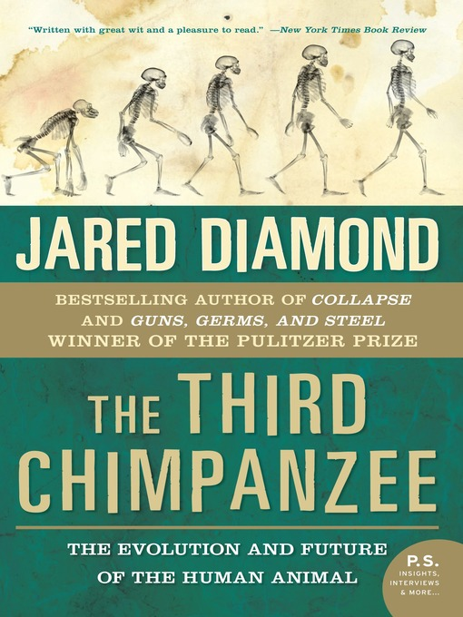 The Third Chimpanzee (MP3): The Evolution and Future of the Human Animal