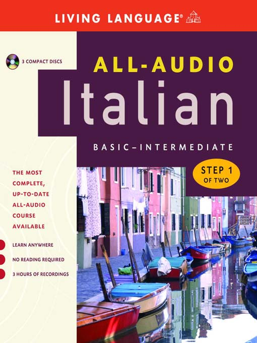Cover image for All-Audio Italian Step 1