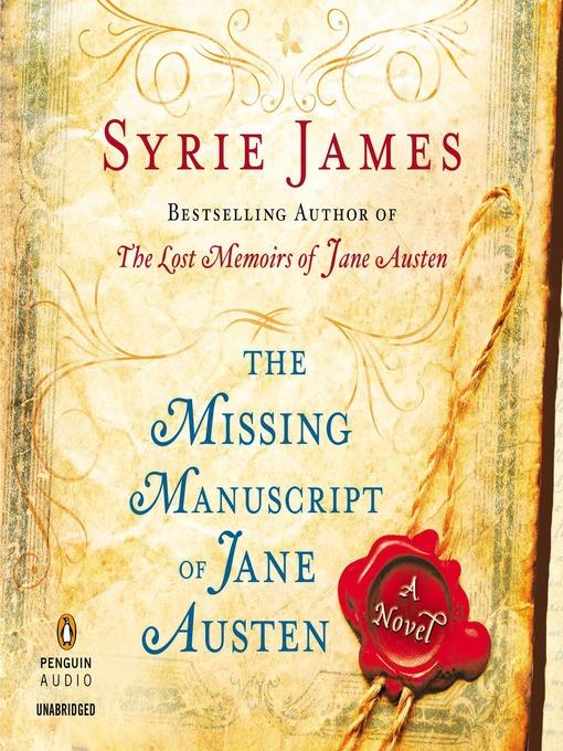 The Missing Manuscript of Jane Austen (MP3)