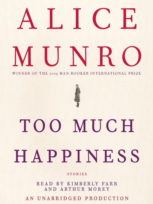 Cover image for Too Much Happiness