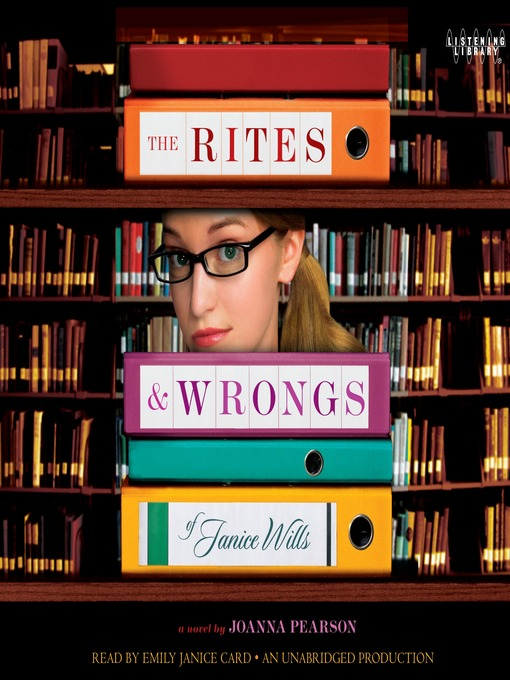 The Rites and Wrongs of Janice Wills (MP3)