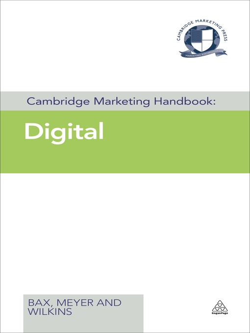Digital (eBook): Cambridge Marketing Handbook