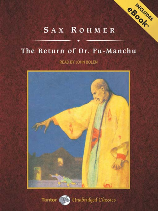 The Return of Dr. Fu-Manchu: Fu-Manchu Series, Book 2 - Fu-Manchu (MP3)