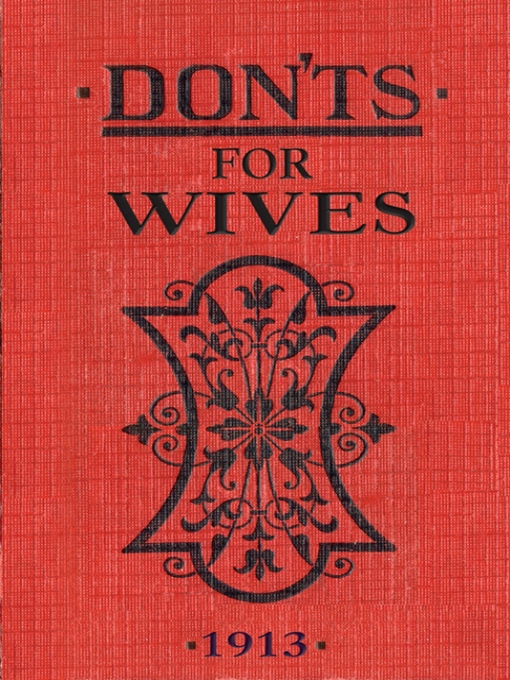 Don'ts for Wives (eBook)