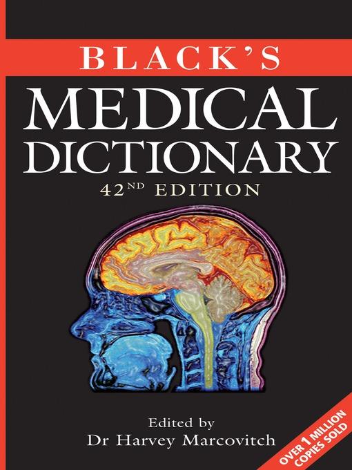 Black's Medical Dictionary (eBook)