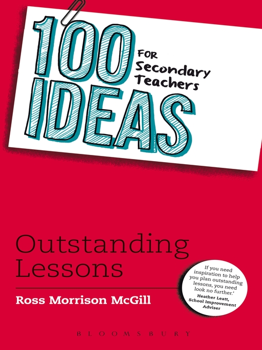100 Ideas for Secondary Teachers (eBook): Outstanding Lessons
