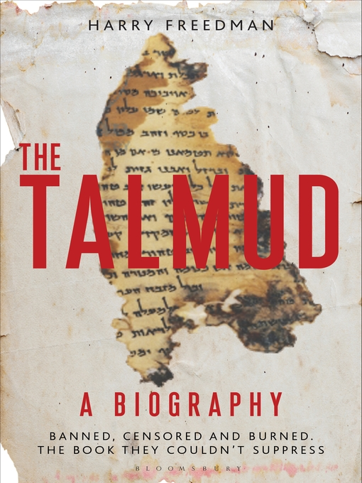 The Talmud: A Biography (eBook)