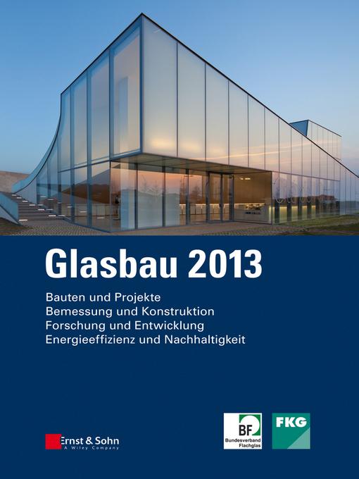 Glasbau 2013 (eBook)