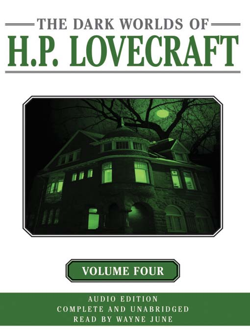 Cover image for Dark Worlds of H. P. Lovecraft, Volume Four